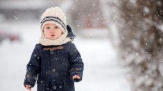 Piel del bebé en invierno