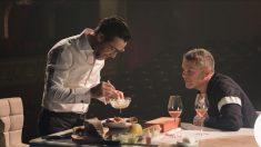 Quique Dacosta con Alejandro Sanz en 'Una vida una vida'