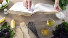 Reglar libros de cocina