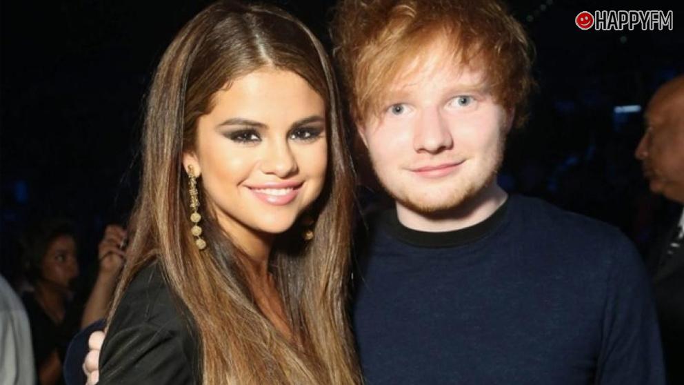 Selena Gomez confiesa que lloró durante un concierto de Ed Sheeran