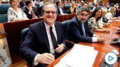 Ángel Gabilondo, en la Asamblea de Madrid. (Foto: Francisco Toledo/Okdiario)