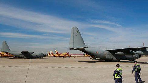 Base aérea de Torrejón de Ardoz.