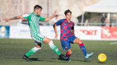 Juan-Larios, defensa del Juvenil B del Barcelona (Twitter)