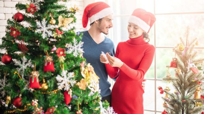 Planes románticos en Navidad