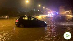 Inundaciones en Reinosa. Foto: EP
