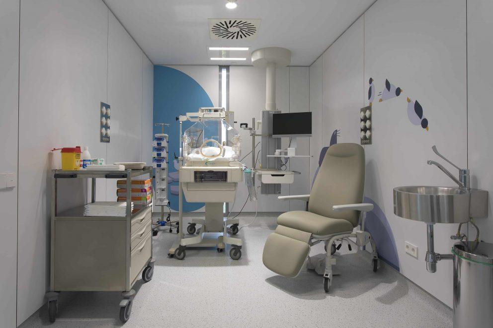 Pediatría y ginecología, las especialidades clave de la ampliación del Hospital Quirónsalud de Madrid