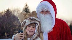 Papá Noel es el personaje navideño más conocido del mundo