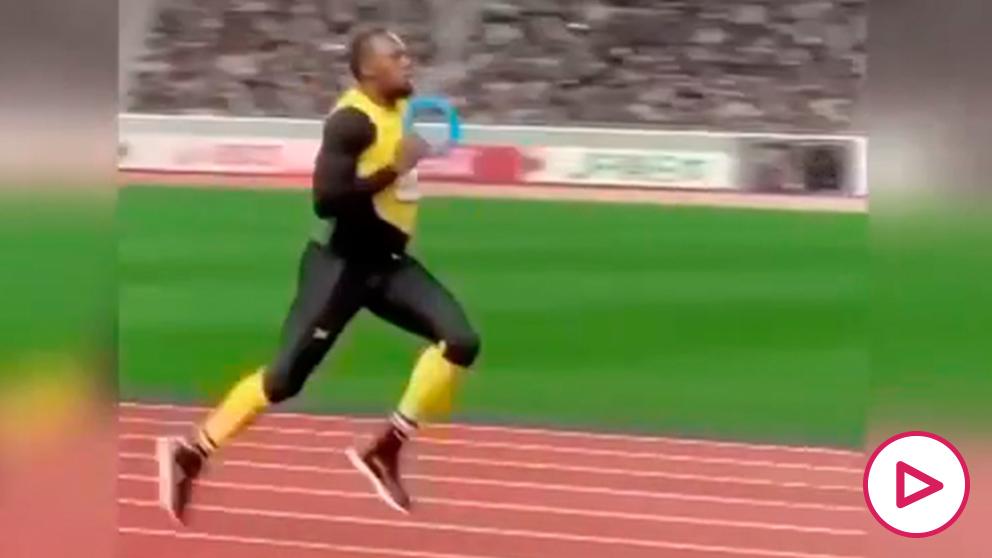 La 'tripita' de Bolt revoluciona las redes.