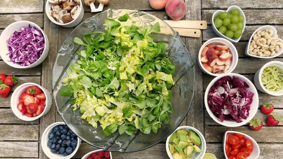 Nutrientes de la dieta vegetariana
