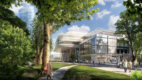 Proyecto de ampliación de Norman Foster para el Museo de Bellas Artes de Bilbao @MuseoBellasArtesBilbao