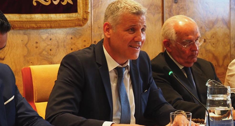 Alfredo García-Plata, alcalde de Torrelodones. (Foto: Ayuntamiento)