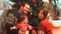 Alberto Garzón y su mujer Anna Ruiz con su árbol de Navidad @IG
