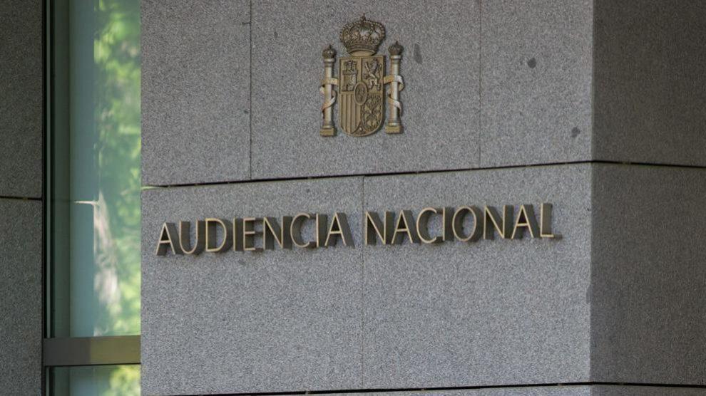 Sede de la Audiencia Nacional, donde se llevó a cabo la reunión.