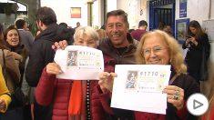 En Utrera (Sevilla) se han repartido 26 millones de euros de un cuarto premio. (Ep)