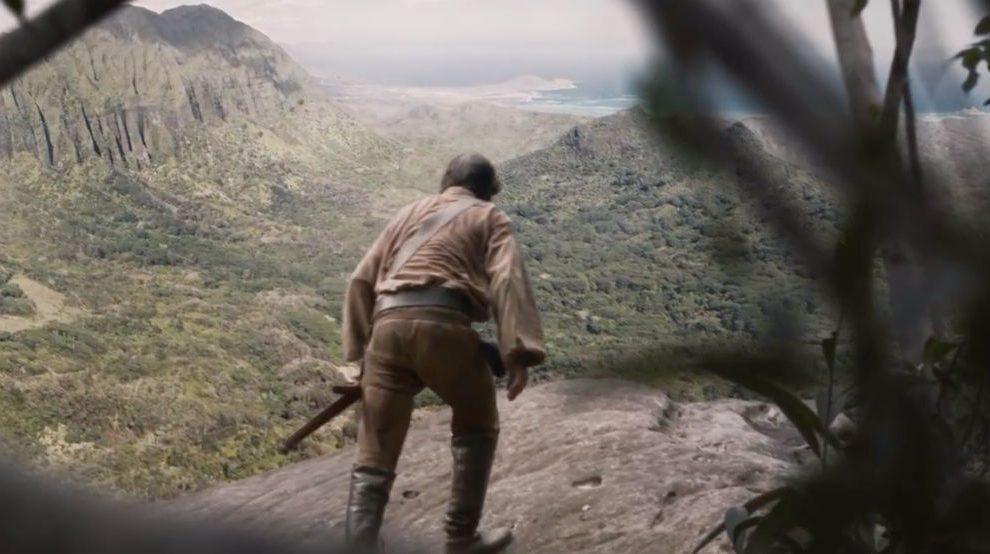 Núñez de Balboa descubre el Mar del Sur, en una secuencia de la serie 'Conquistadores, Adventum'