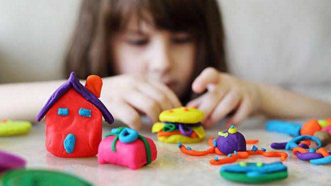 manualidades plastilina niños