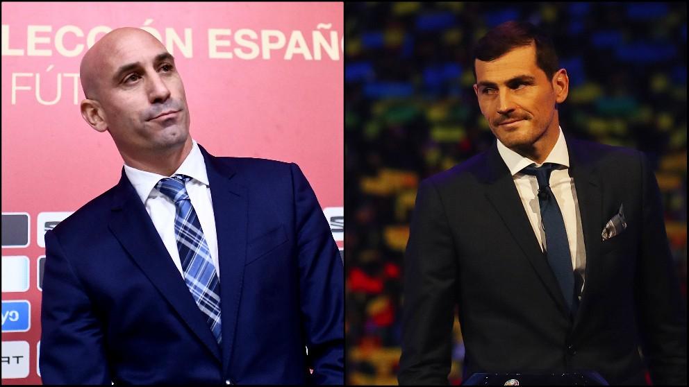 Rubiales y Casillas.
