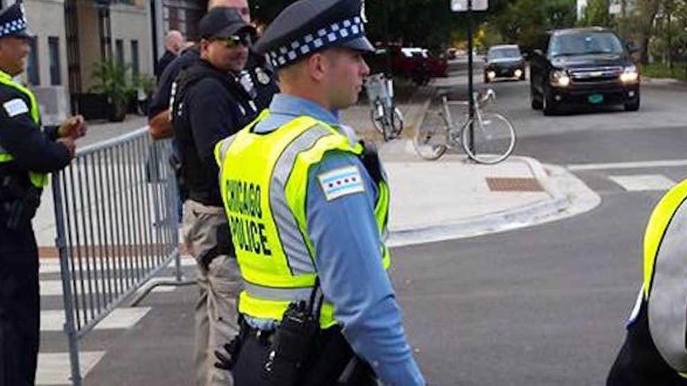 Policías de Chicago.
