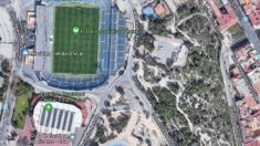 Zona del Monte Tosal junto al estadio Rico Pérez. (EP Google Maps)