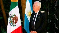 El ex embajador de México en Argentina Ricardo Valero.