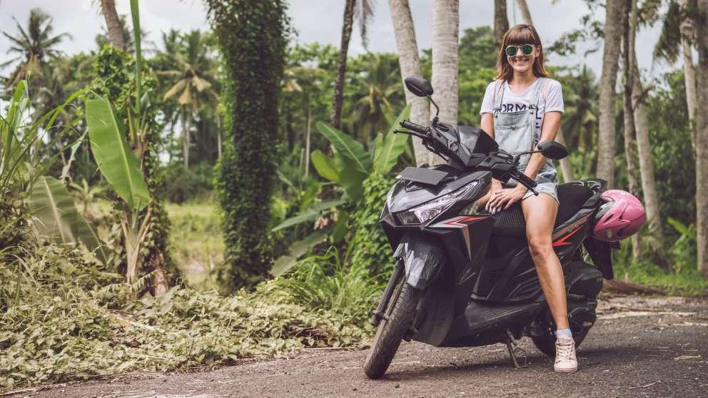 Las motos son ideales para circular de forma ágil y segura