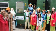 El Tren de los Reyes Magos es una fantástica experiencia para los más pequeños