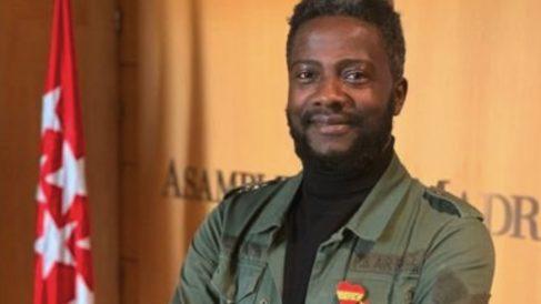 Bertrand Ndongo, fichaje de Vox en la Asamblea de Madrid.