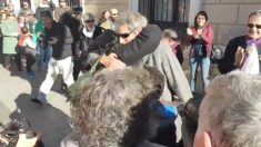 Un CDR acusado de terrorismo es recibido como un héroe en Sabadell.