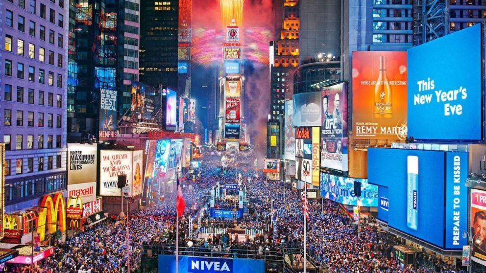 Nueva York es un destino único para disfrutar de la Nochevieja