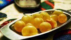 Formas originales de servir las uvas de Nochevieja