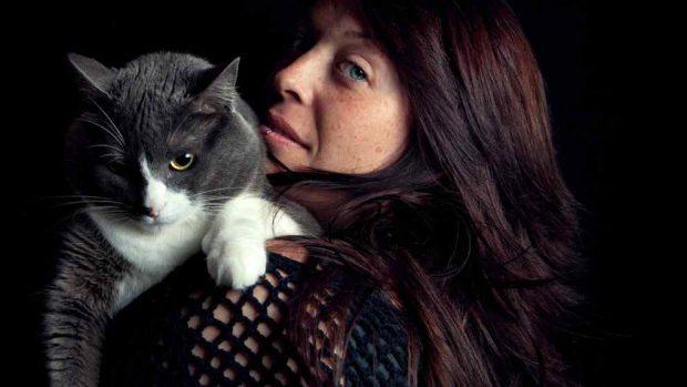 Gatos y las mujeres embarazadas