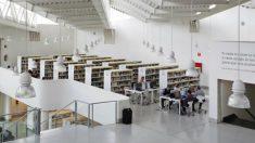 Biblioteca pública Luis Rosales. Foto: Comunidad de Madrid