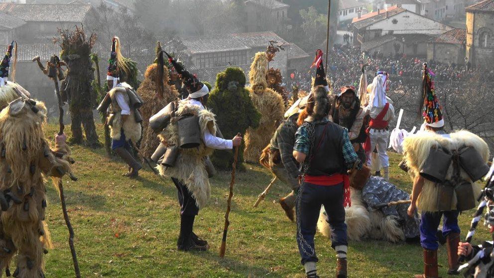 La Vijanera es una de las fiestas más tradicionales y famosas de Cantabria