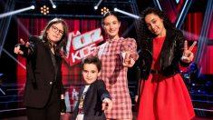 Los finalistas de 'La Voz Kids'