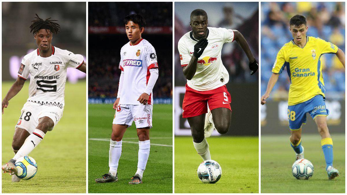Camavinga, Kubo, Upamecano y Pedri, entre los jugadores a tener en cuenta en 2020.
