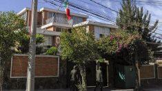 Embajada de México en La Paz, Bolivia (Foto: AFP)