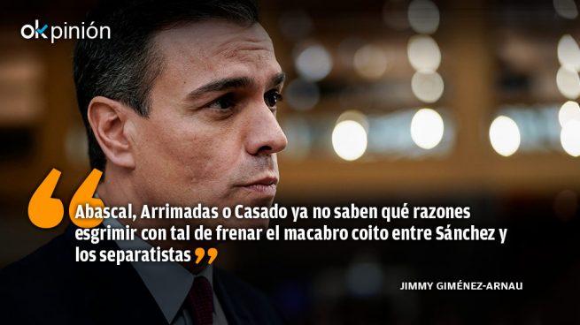 A Sánchez le ponen los separatistas
