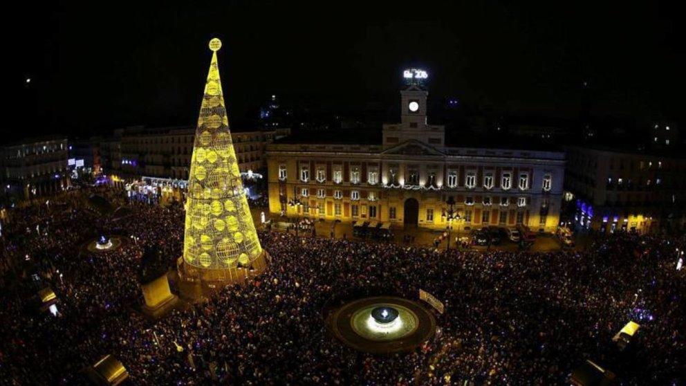 Tomarse las uvas en la Puerta del Sol es una experiencia única en Nochevieja