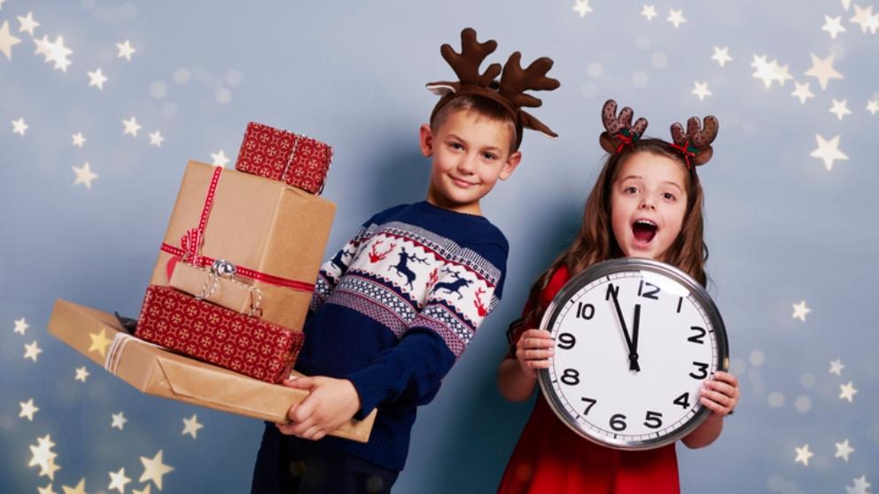 Planes para celebrar Fin de año con tus hijos
