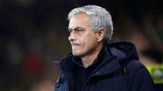 José Mourinho, técnico del Tottenham. (@SpursOfficial)