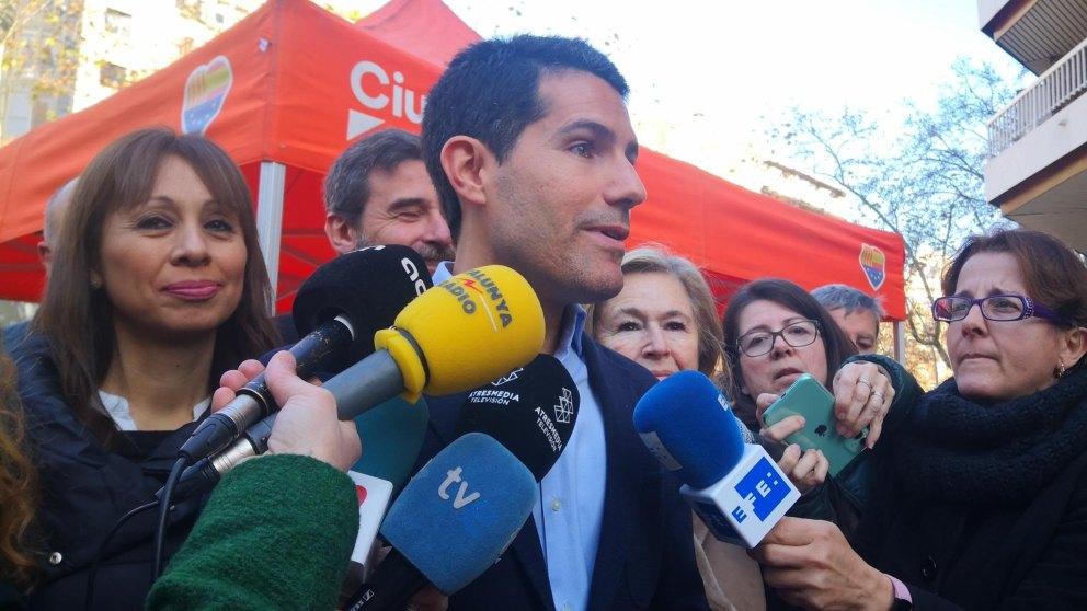 Nacho Martín Blanco, diputado de Ciudadanos. Foto: EP