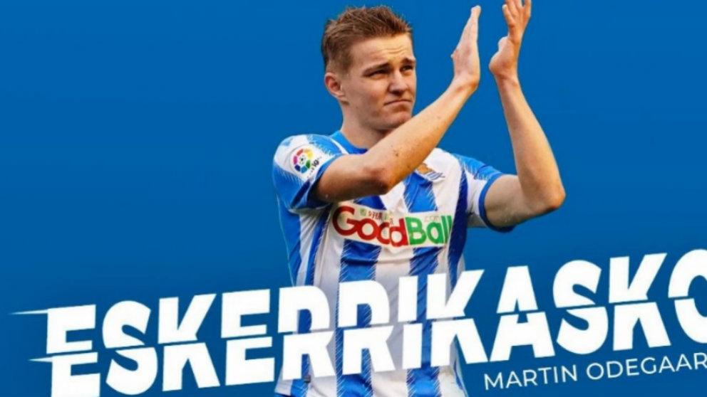 Martin Odegaard. (Real Sociedad)