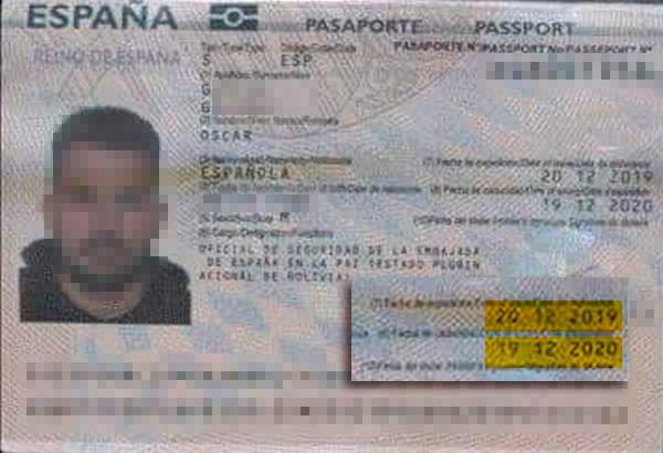 Interior falseó los pasaportes de los GEO que fueron a Bolivia a neutralizar a testigos clave contra Podemos