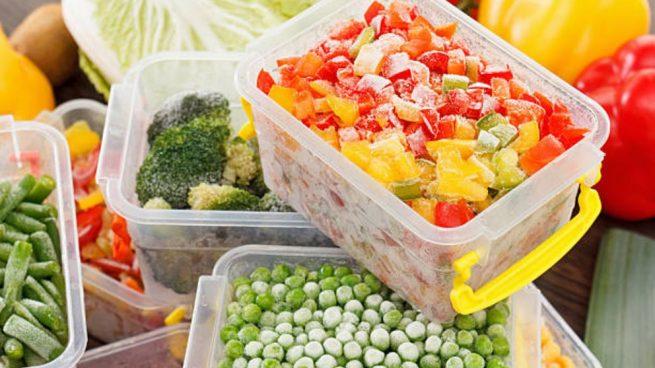 alimentos congelados en el embarazo
