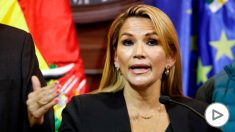 Jeanine Añez, presidenta de Bolivia tras la dimisión de Evo Morales. (Ep)