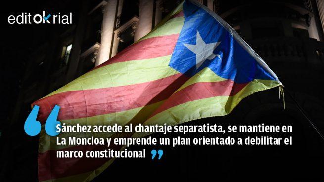 Sánchez ordena y la Abogacía del Estado se pliega a los golpistas