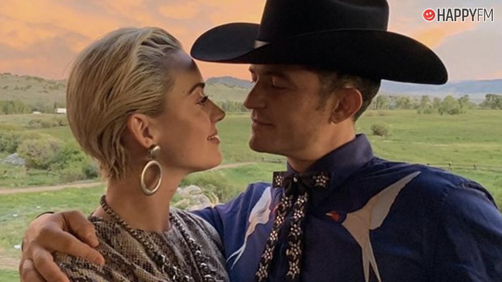 Katy Perry y Orlando Bloom, así han pasado la navidad