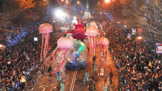 Cabalgata de Reyes 2020 en Madrid
