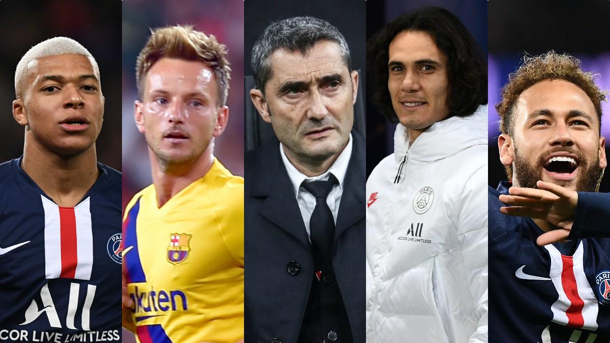 Mbappé, Rakitic, Valverde, Cavani y Neymar, entre los culebrones que nos esperan en 2020.
