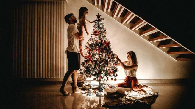 guardar los adornos navideños